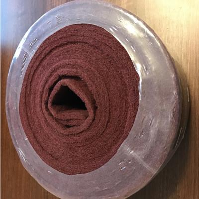 Abrasive surface conditioning pad ( scotch pad ) Red 10M Roll