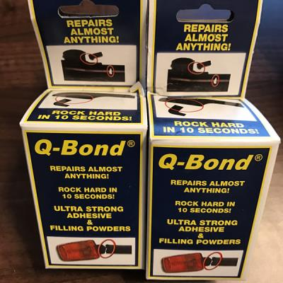 Q Bond Plastic + Metal Repair Mini Kit