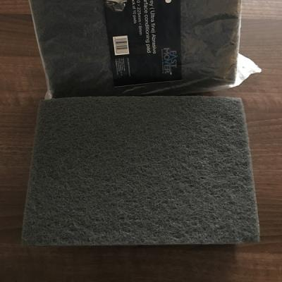 Abrasive surface conditioning (scotch) pad Grey pack of 10